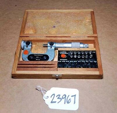 Brown And Sharpe Micrometer No 210-1 Inv.23967