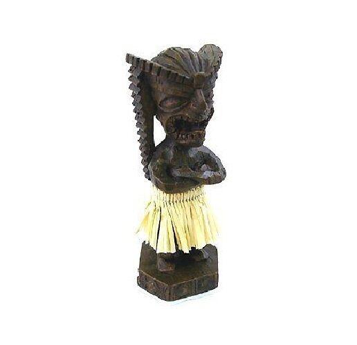 """Hawaiian Tiki Dashboard Spring 4"""" Doll from Hawaii"""