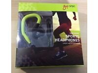 Goji Sport Ear Hook Sports Headphones GSPOOK16 - RRP £12.99