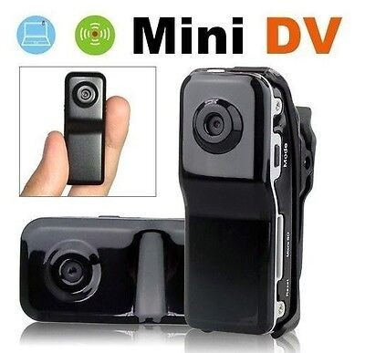 NEW SPY MINI Police Thumb 007 DVR Camera Camcorder Recorder COLOR on Rummage