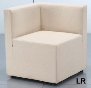 Sofa divan lounde blanc modulaire