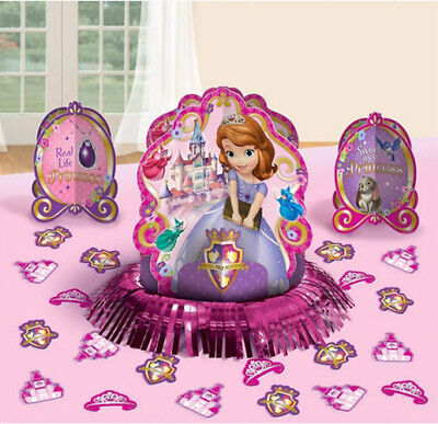 Princess Sofia Birthday (PRINCESS SOFIA THE FIRST birthday party TABLE DECORATING KIT Centerpiece)