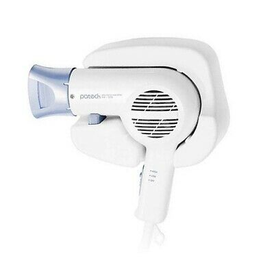 PATECH Wall Mount Hair Dryer PH-1010 Hair Care 1200W for Styling Beauty_imga