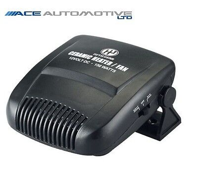 SMART FOR FOUR POWERFUL 150W 12V PLUG IN CAR HEATER/FAN/DEFROSTER DASHBOARD CIGA