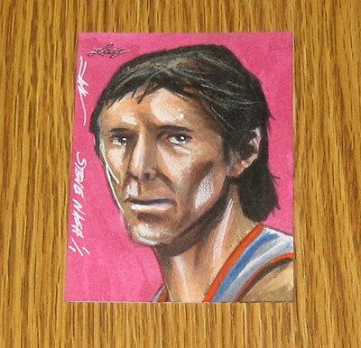 Steve Nash 2014 Leaf Best of Basketball Sketch Card #1/1 - Phoenix