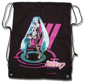 NEW-VOCALOID-HATSUNE-MIKU-Drawstring-Bag