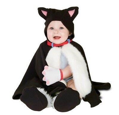 Baby Kitten Costume (Baby Cat Costume Infant Kitten Kitty Cape Mittens Fancy Dress Kids Girls)