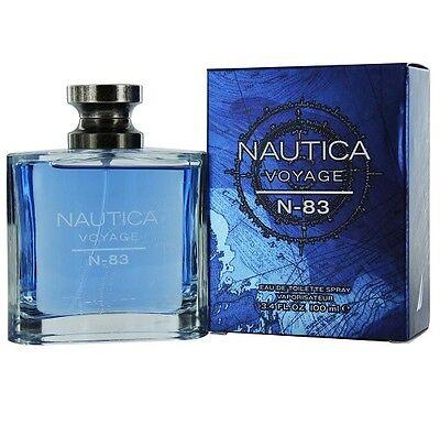 Nautica Voyage N-83 Cologne 3.4 Oz Edt For Men - NAUVN-8334S