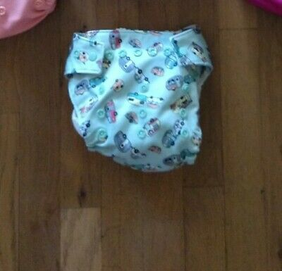 Grovia cloth diaper shell and stay dry insert, Adventure. Hybrid.