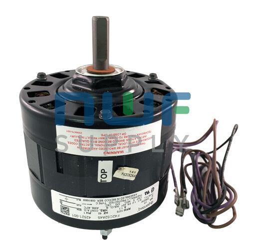 Lennox armstrong genteq oem fan motor f42c52a45 1 5 hp for Lennox furnace motor price