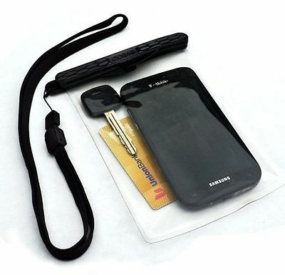 GoBag Dolphin Dry Bag Phone Camera Self Sealing Magnetic Waterproof Case, used for sale  Shipping to India