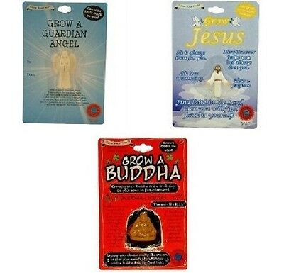 Grow A Buddha Jesus Guardian Angel Funny Novelty Joke Prank Party Secret - Guardian Angel Kostüm