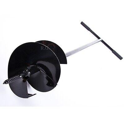 Handbohrer Erdbohrer Handerdbohrer Erdlochbohrer Durchmesser 170mm