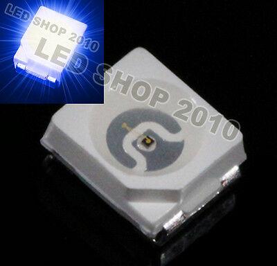 200pcs POWER TOP SMD SMT Blue PLCC-2 3528 1210 Super Bright Light LED