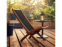 Ikea Garden BROMMÖ / patio Deck chair (new £39)