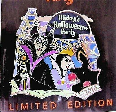 Disneyland Mickey's Halloween Party 2016 Villains PIN  LE 4000  NEW