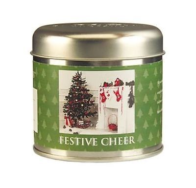 - Wax Lyrical Timeless Festive Cheer Candle Tin NEW