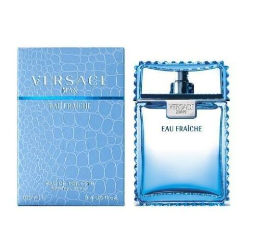 Versace Man Eau Fraiche by Gianni Versace 3.4 oz EDT Cologne for Men New In Box