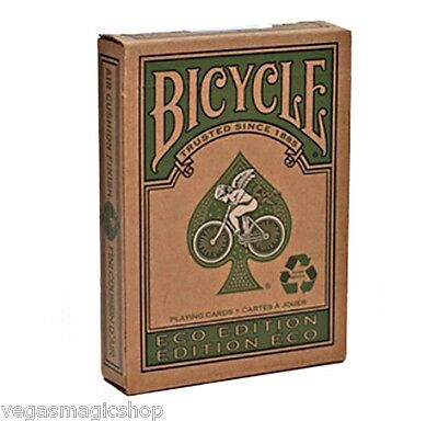 Eco Deck Bicycle Playing Cards Poker Size USPCC Limited Edit