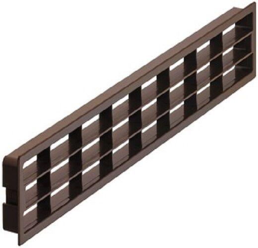 Lüftungsgitter Tür Kühlschrank-Abluft Sockelleiste Möbelgitter Küche 458x65 mm