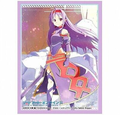Sword Art Online Card Supplies Yuuki Card Sleeves #810 [60 Count] - Online Art Supplies