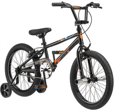 18 Mongoose Switch Boys Freestyle Bike, Black