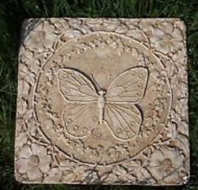 Butterfly stepping stone mold heavy duty plastic garden mould (Butterfly Stepping Stone Mold)
