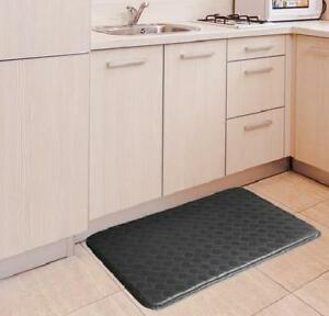 Black Anti Fatigue Floor Mat Gel Comfort Cushion Kitchen Restaurant 30