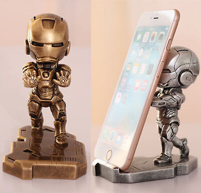Iron Man Dekorationen (Avengers IRON MAN MK7 Auto Wohnen Deko-figuren toys Telefon Iphone Stand Fun Neu)