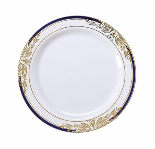 White and gold disposable plates | Tableware | Compare Prices at Nextag
