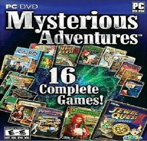 Mysterious adventures 16 Full version PC Hidden Object Games NEW