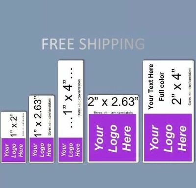 Custom Labels Personalized Stickers Shipping Address Business Office Products - Personalized Office Supplies