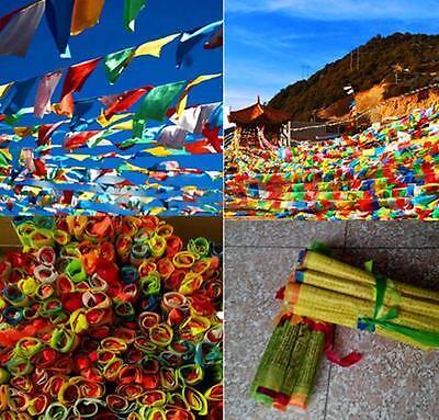 5M String Flag Tibetan Buddhist Prayer Religion Religious Buddhism Sky Flags