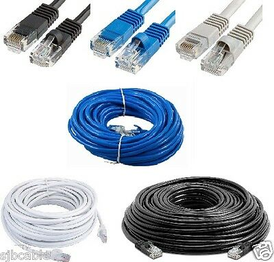 New Cat5 CAT5e Rj45 Ethernet Internet LAN Network Patch Cable Cord Modem Router  ()