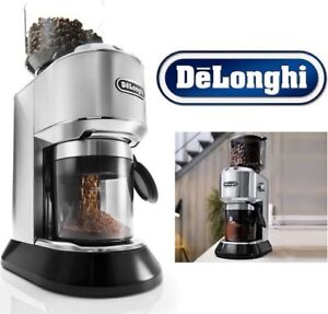 NEW DELONGHI CONICAL BURR & COFFEE GRINDER KG521M