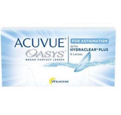 Acuvue Oasys for Astigmatism 1x6 JohnsonJohnson kostenloser DHL VERSAND
