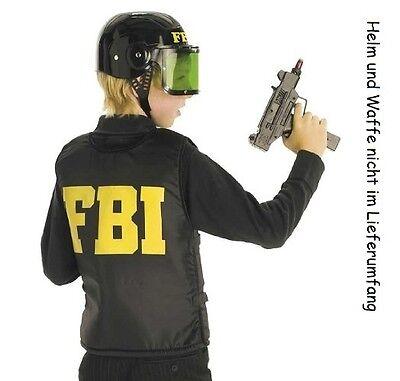 Fries 2236 FBI Schutz Weste für Kinder Kostüm Gr. 164