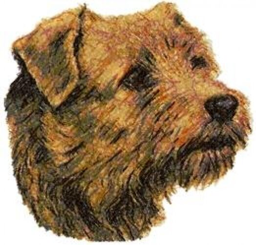 Embroidered Fleece Jacket - Norfolk Terrier AED16228 Sizes S - XXL