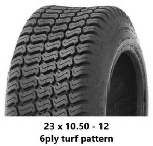 """23 X 10.50 - 12"""" TURF TYRES 6PLY - RIDE ON MOWERS/MINILOADERS/KANGA Midvale Mundaring Area Preview"""