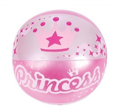 "PRINCESS BEACH BALL  16"" Pool Party Beachball NEW! #ST55 Free Shipping"