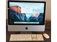 "Apple iMac A1225 24"" All-in-One Desktop Gaming&Graphic Design Computer OS X 10.11 El.Capitan 500GB H"
