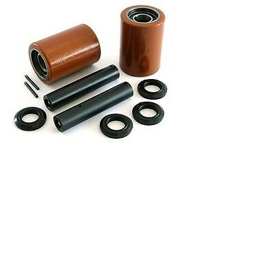 Crown Wp2300 Electric Pallet Jack Load Wheel Kit  Load Wheels Axles Hardware