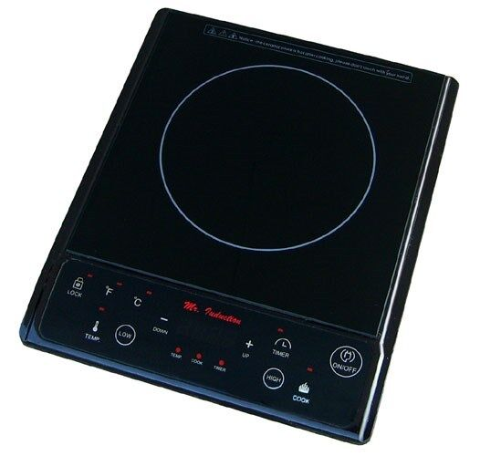 "SPT 11-7/8"" Modular Electric Induction Cooktop Black SR-964TB"