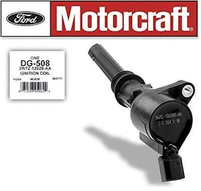 Ford Motorcraft OEM Ignition Coil DG508 Exact Fit For 4.6L 5.4L 6.8L V8 V10 New ()