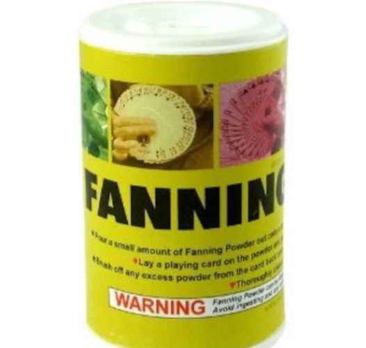 Fanning Powder 2oz/57grams - 4 Card Magicians & Manipulators -Make Old Decks New