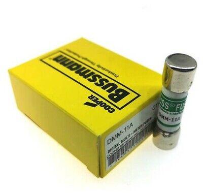 Usa 10 Pack Bussmann Dmm11 11a 11-amp 1000v Fuse Fluke Lot Of 10