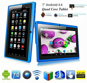 7 Inch Wifi Tablet Android 4.4 Quad Core 8G RAM
