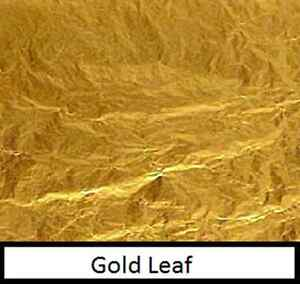 10-sheets-of-24ct-gold-leaf-7cm-x-7cm-craft-silver-copper-leaf-also-in-shop
