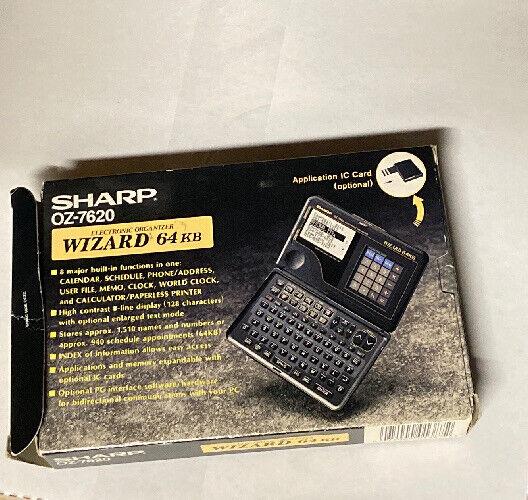 Sharp Electronic Organizer Oz-7620