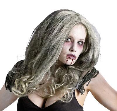 Womens Zombie Undead Horror Halloween Wig - - Zombie Wig
